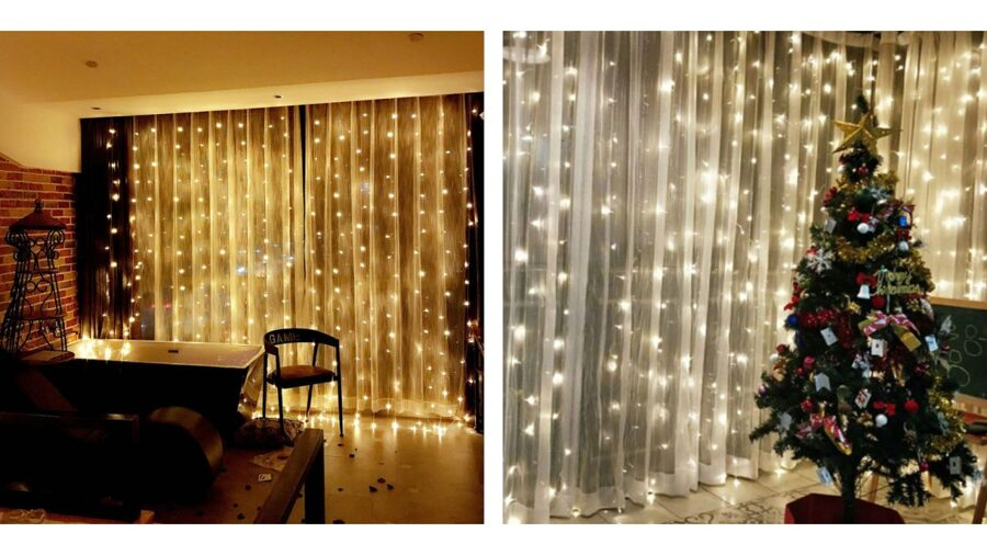 LED curtain 3x3m