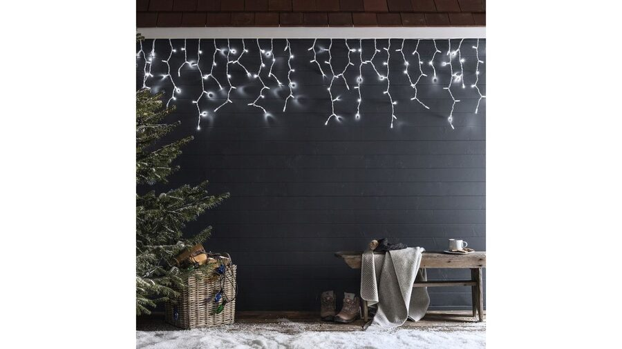 LED icicles 12m
